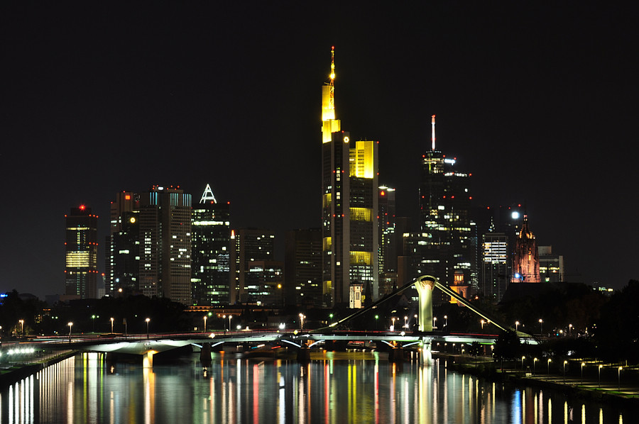 Frankfurt Mainhattan Skyline