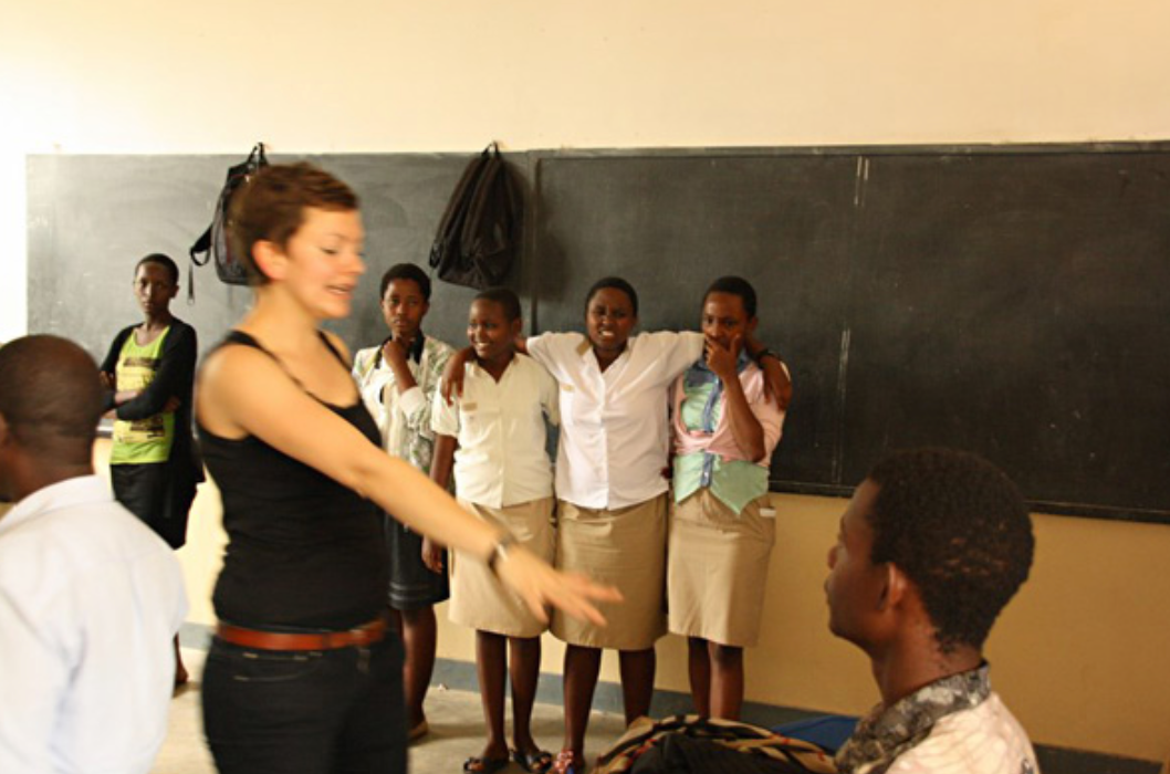 Theaterworkshop, Burundi 2014