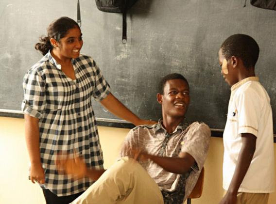 Theaterworkshop, Burundi 2014