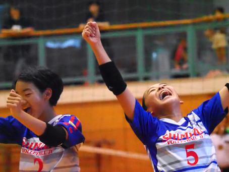 第43回 静岡県中部バレーボール選手権大会 小学生6年の部「女子の部」1日目