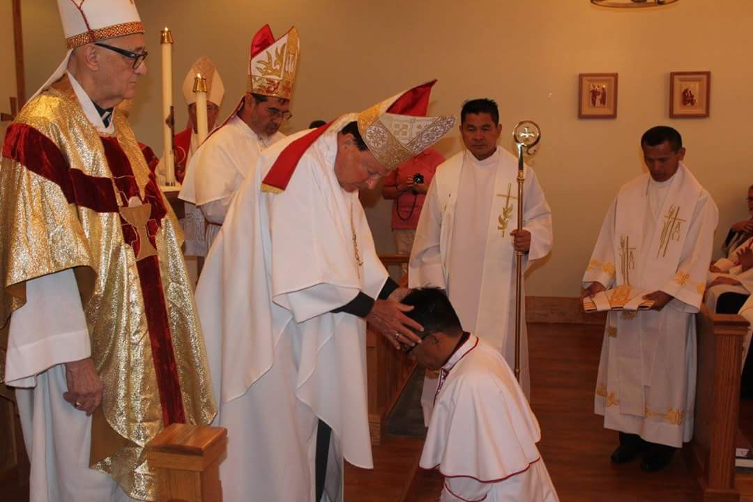 Consecration by Archbishop McCormick.JPG