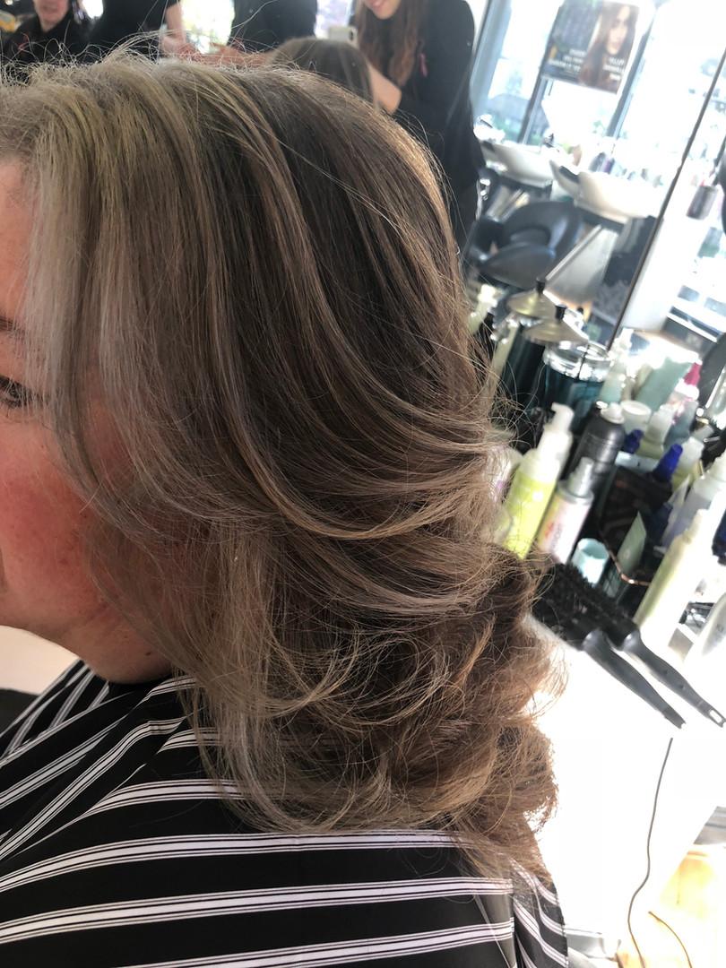Hair by Leonie - Going Grey Gracefully - Hair @ Gilda's