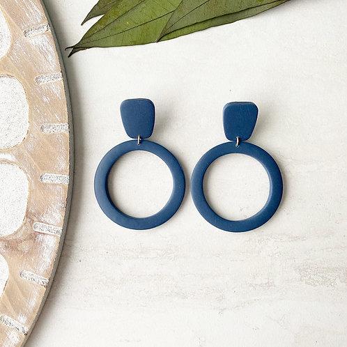 the hoop (navy blue)