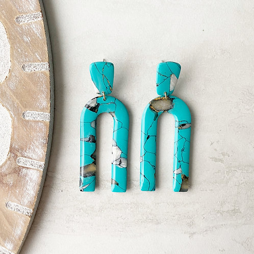 turquoise arches