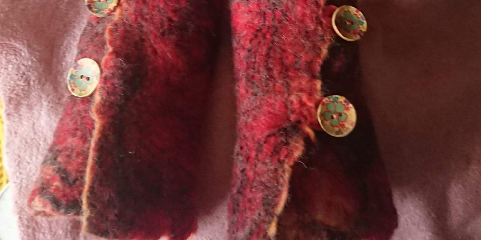 Wool Felting Workshop. £60.00 per person (all materials included)