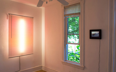 installation view at Yeah Maybe