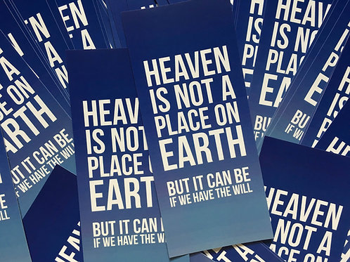 """Heaven"" Sticker (3 Pack)"