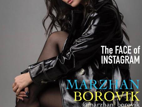 MARZHAN BOROVIK на обложке forKAZAKHMAN #9-2020