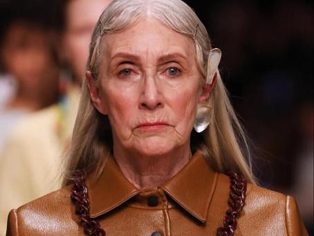 Модели старше 55 лет вышли на московский подиум Mercedes-Benz fashion week / #MBFWRUSSIA