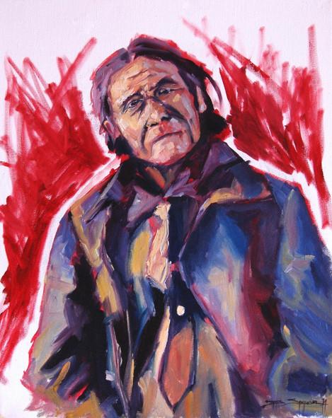 Geronimo, 16x20 oil on canvas
