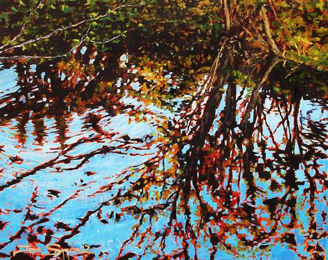 Twinkling Applegate Tribute 60x48 canvas SOLD