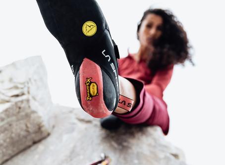 Les chaussons d'escalade pour les femmes