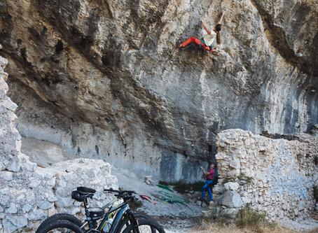 Trip vélo-escalade