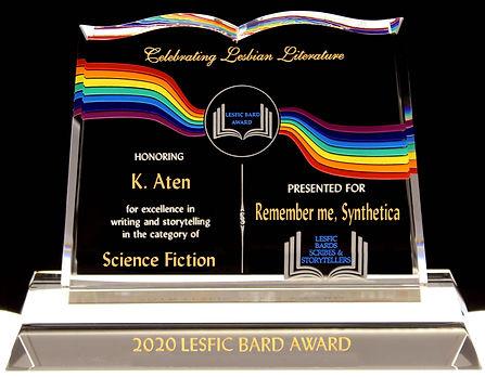 Lesfic Bard Award Winner 2020 - Syntheti