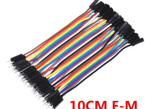 Jumper Wires Female/Male (Pack of 40 x 10cm)