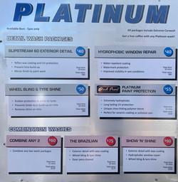 platinum wash