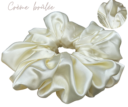Crème Brûlée Luxury  Scrunchie  UK Free Post