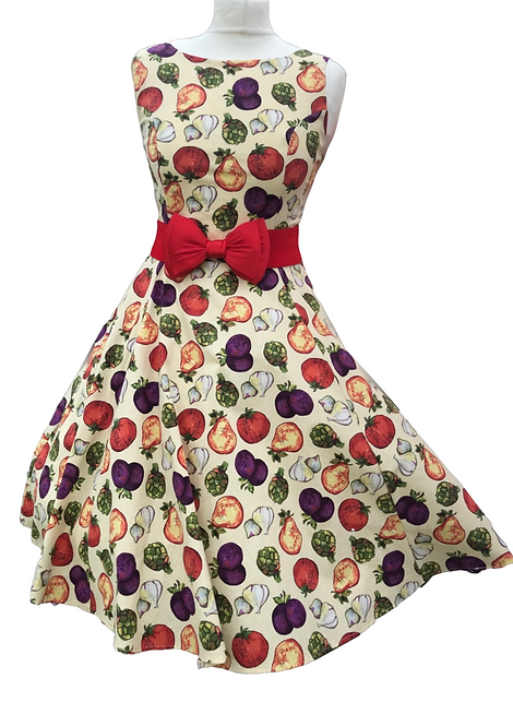 Butternut Burrito Cotton Dress
