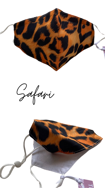 Adult Safari Face Mask Free Post