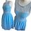 Thumbnail: Blue Lace Skater Dress