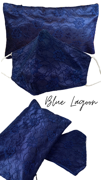 Blue Lagoon  Lace Face Mask Retreat Set