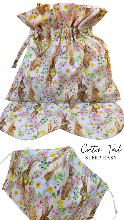 Cotton Tail Sleep Easy Eye Mask  Retreat Set