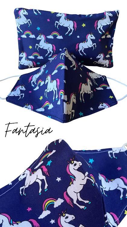 Fantasia  Adult Face Mask Travel Set
