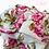 Thumbnail: Juliet Pink Roses Cotton Mix Scarf
