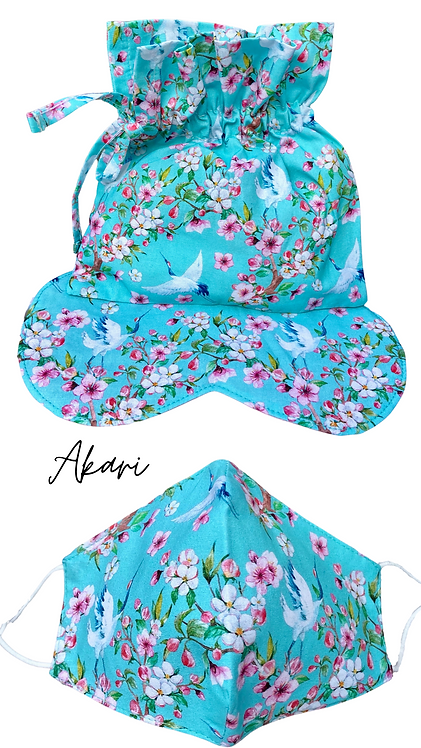 Akari Sleep Easy Eye Mask  Retreat Set