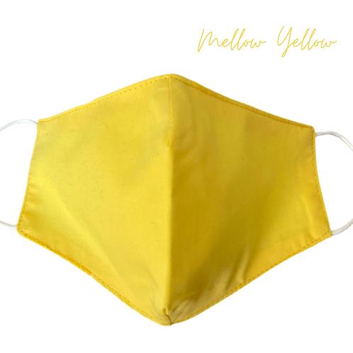 Mellow Yellow Face Mask