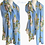 Thumbnail: Marie Roses Cotton Mix Scarf