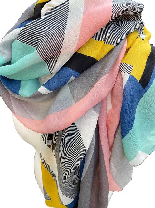 Beautiful Geometric Scarf/Wrap