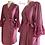 Thumbnail: Anais Satin Dressing Gown/Robe
