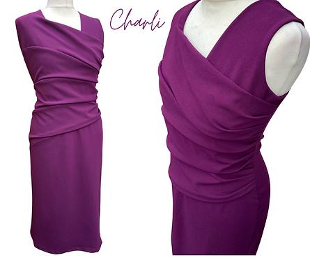 Charli PurpleCross Over Dress