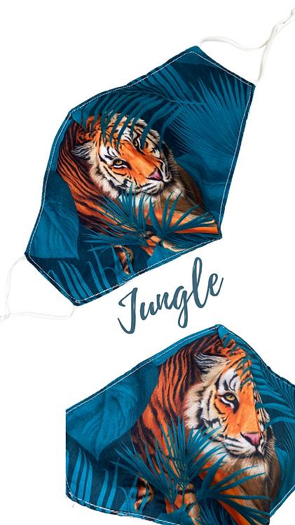 Jungle Adult Fabric Face Mask Free Post