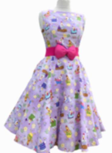 Retro dress/skater dress
