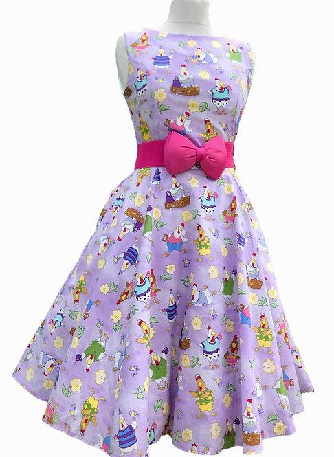 Cheerful Chicken Dress