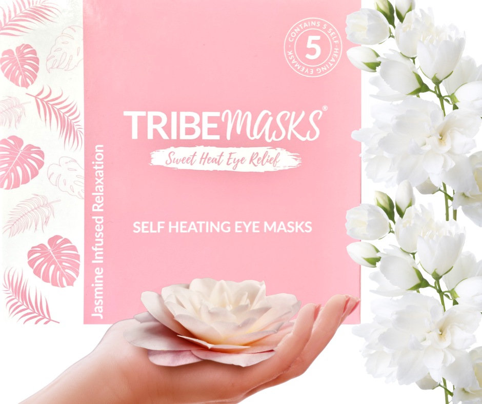 Tribemasks seet jasmine heated eye masks