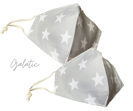 Galactic Children's Fabric  Face Mask Free Post