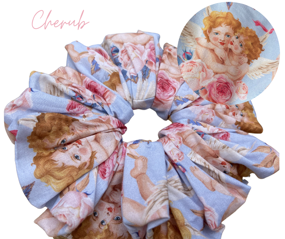cherub scrunchie