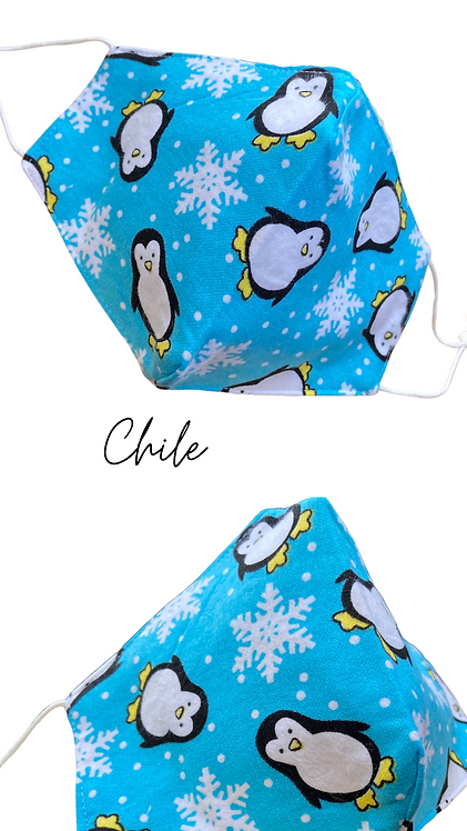Chile Face Mask Made In UK Free Post