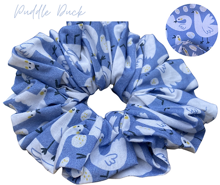 Puddle Duck Luxury Scrunchie  UK Free Post