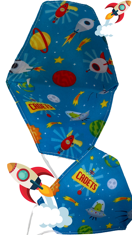 Children's Space Cadet Face Mask Free Post