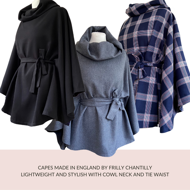Frilly Chantilly Capes