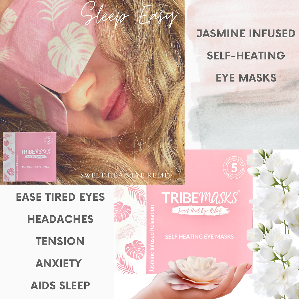 Tribemasks self heating eye masks Australia