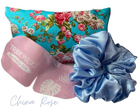 China Rose Sleep Retreat Set Free Face mask Worth £8.99