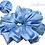 Thumbnail: Cornflower Luxury Scrunchie  UK Free Post