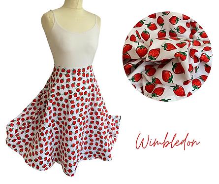 Wimbledon Cotton Skirt