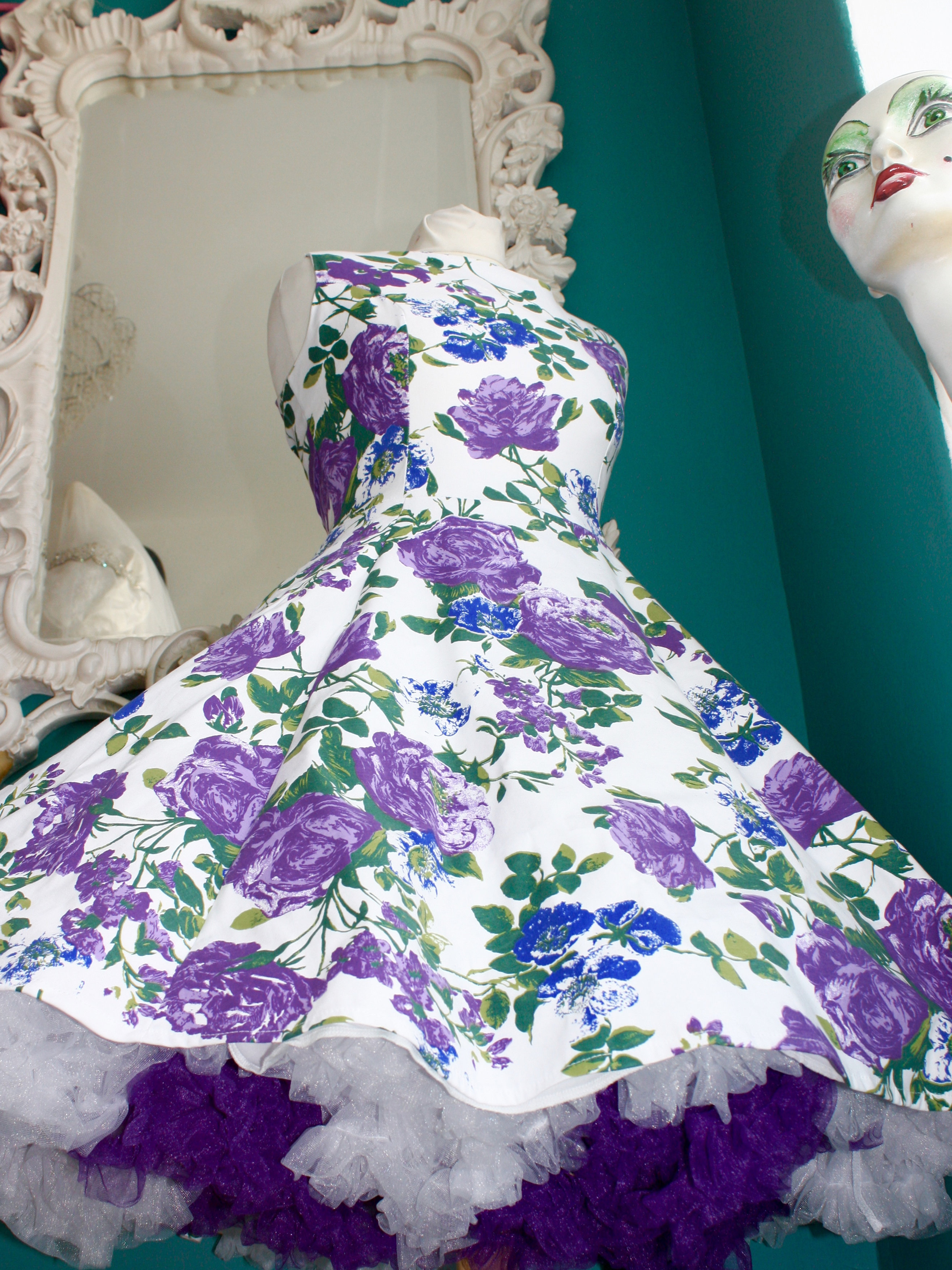 Our Stunning Garden Party Dress Is Made And Designed In England By Frilly  Chantilly.