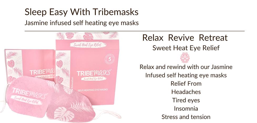 Tribemasks heated eye masks